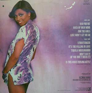 Dee Dee Bridgewater - Bad For Me - Back Cover
