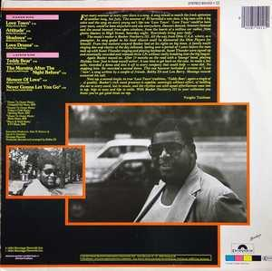 Back Cover Album Booker Newberry Iii - Love Town