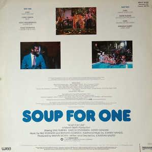Back Cover Album Original Motion Picture Soundtrack - Soup For One