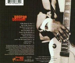 Back Cover Album George Benson - Love Remembers