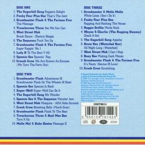 Back Cover Album Various Artists - Sugar Hill Hip Hop Box Set