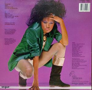 Back Cover Album Bonnie Pointer - If The Price Is Right