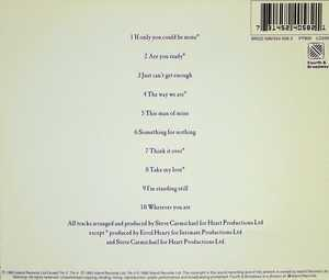 Back Cover Album The Affair - Just Can't Get Enough