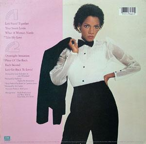 Melba Moore - What A Woman Needs - Back Cover