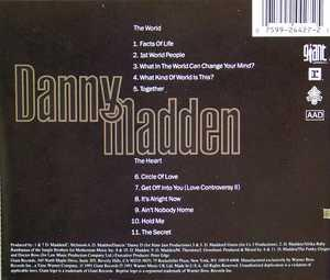 Back Cover Album Danny Madden - These Are The Facts Of Life