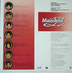 Back Cover Album Manchild - Power And Love
