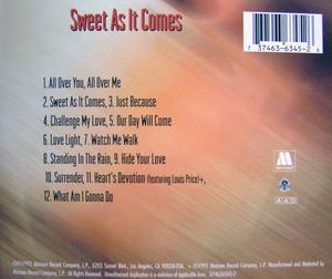 Back Cover Album Nikita - Sweet As It Comes