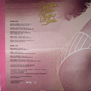 Back Cover Album Various Artists - Brazilian Disco Boogie Sounds (1978-1982)