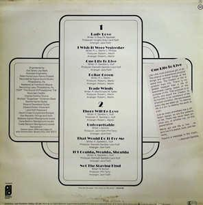 Back Cover Album Lou Rawls - When You Hear Lou, You've Heard It All