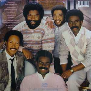Back Cover Album The Whispers - So Good