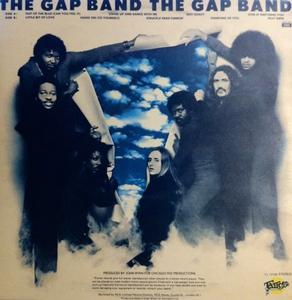 Back Cover Album The Gap Band - The Gap Band