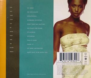 Back Cover Album Michelle Gayle - Sensational