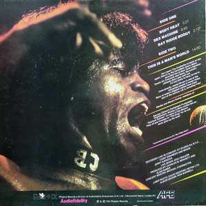 Back Cover Album James Brown - Body Heat