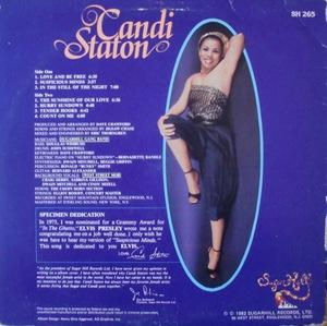 Back Cover Album Candi Staton - Nightlites