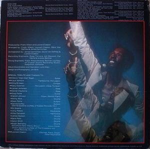 Eddie Kendricks - Boogie Down! - Back Cover