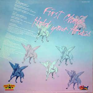 Back Cover Album First Choice - Hold Your Horses