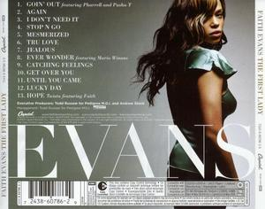 Back Cover Album Faith Evans - The First Lady