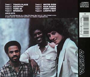 Back Cover Album Jeff Lorber - Water Sign