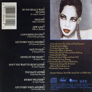 Back Cover Album Melba Moore - Soul Exposed