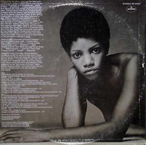 Back Cover Album Melba Moore - Look What You're Doing To The Man