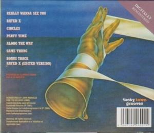 Back Cover Album Invisible Man's Band - Really Wanna See You