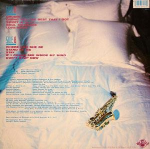 Back Cover Album Kim Waters - Sweet And Saxy