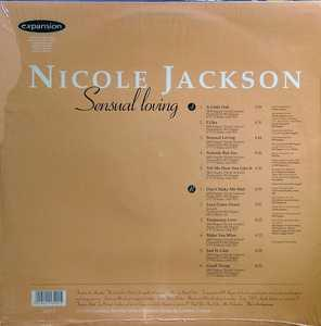Back Cover Album Nicole Jackson - Sensual Loving