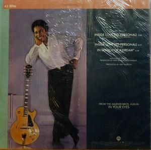 Back Cover Single George Benson - Inside Love