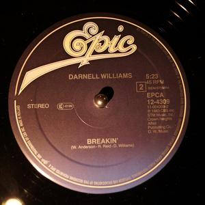 Back Cover Single Darnell Williams - Better Man