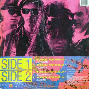 Back Cover Single 3man Island - Funkin' For The Uk