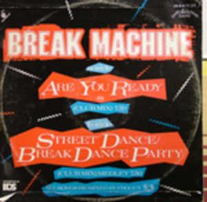 Back Cover Single Break Machine - Are You Ready