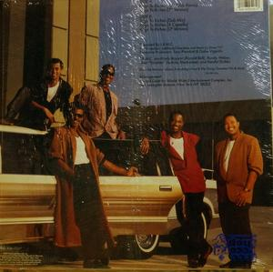 Back Cover Single Kool & The Gang - Rags To Riches