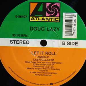 Back Cover Single Doug Lazy - Let It Roll