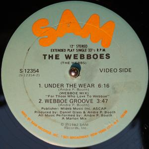 Back Cover Single The Webboes - Under The Wear