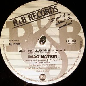 Back Cover Single Imagination - Just An Illusion