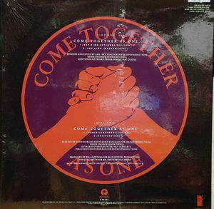 Back Cover Single Will Downing - Come Together As One