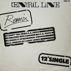 Back Cover Single Central Line - Don't Tell Me