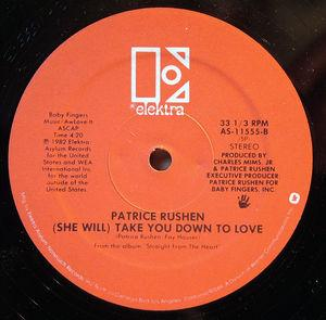Back Cover Single Patrice Rushen - Forget Me Nots
