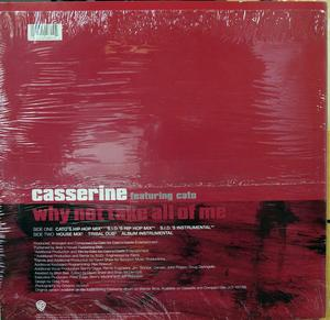 Back Cover Single Casserine - Why Not Take All Of Me