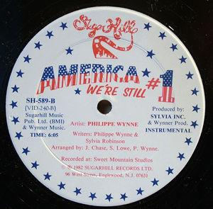 Back Cover Single Philippe Wynne - America We're Still #1