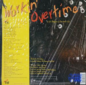 Back Cover Single Diana Ross - Workin' Overtime
