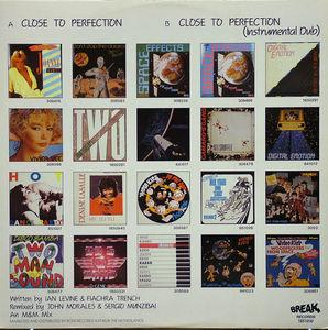 Back Cover Single Miquel Brown - Close To Perfection