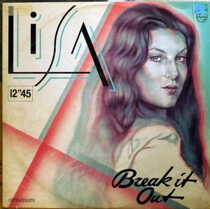 Back Cover Single Lisa Boray - Break It Out