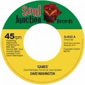 David Washington new single Games