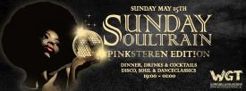 Sunday Soultrain, zondag 15 mei (Extra Pinkster editie)
