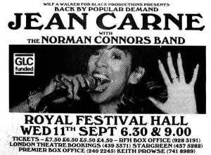 Live Jean Carne with the Norman Connors Band