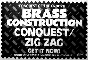 Brass Construction Conquest Zig Zag