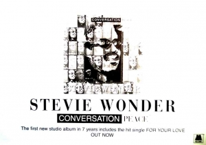 Stevie Wonder returns with a new Album Conversation Peace