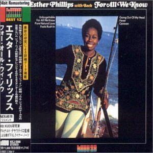 Album  Cover Esther Phillips - For All We Know on  Records from 1976