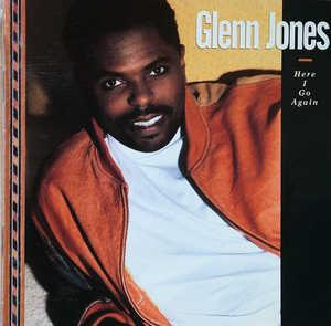 Front Cover Album Glenn Jones - Here I Go Again